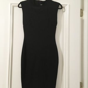 Stella McCartney Black Sheath Sleeveless Dress